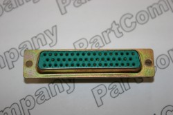 M24308/23-5F D Sub MIL Spec Socket Straight PCB Mounting 50 Way
