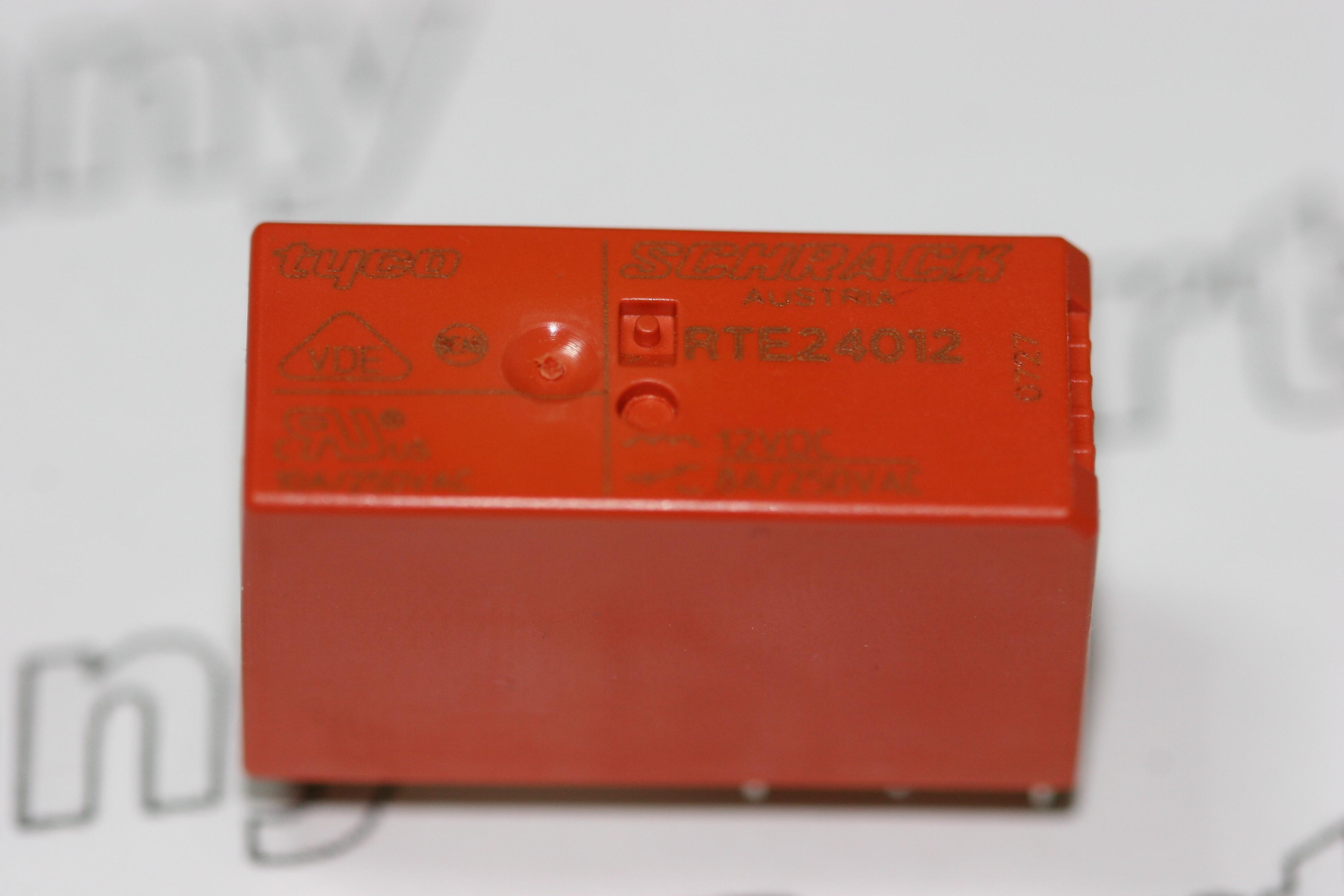 RTE Schrack General Purpose Relay V Coil DPDT A V - Dpdt relay buy