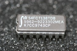 54FCT138TDB Fast CMOS 1-of-8 Decoder with Enable