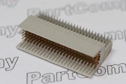 2mm Hard Metric PCB Mount 125 Pin RA TE Connectivity / AMP