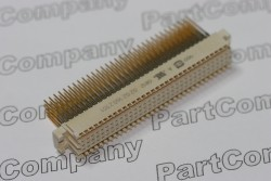 160 Position Female Straight Backplane Connector Harting