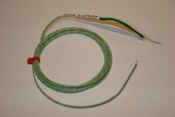 RS 219-4309 K Type Welded Tip Glass Fibre Insulated Thermocouple -50C to +400C