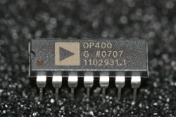 OP400G Analog Devices Quad Low-Offset, Low Power Operational Amplifier
