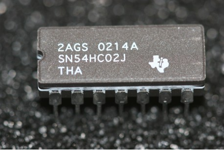 SN54HC02J Texas Instruments Quad 2-Input Positive-NOR Gates