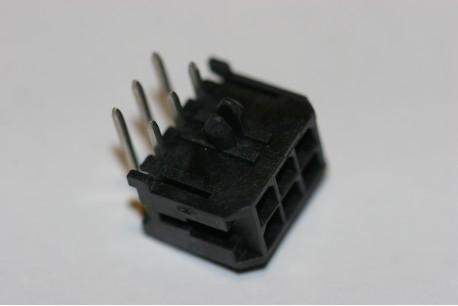 43045-0602 Molex Micro-Fit 3.0 Right Angle PCB Header