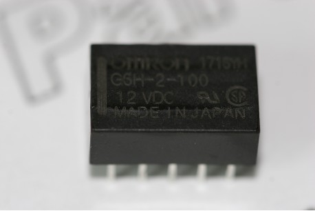G6H-2-100 Omron 12VDC PCB Relay