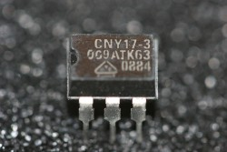 CNY17-3 Vishay Optocoupler, Phototransistor Output, with Base Connection