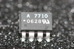 HCPL-7710-300E Avago 40ns Propagation Delay CMOS Optocoupler SMD