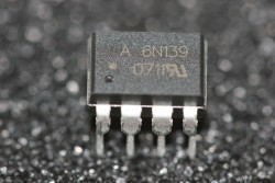 6N139 Avago Low Input Current, High Gain Optocoupler