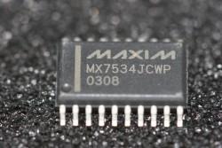 MX7534JCWP Maxim Microprocessor-Compatible 14-Bit DAC