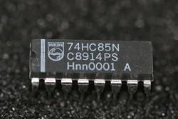 74HC85N Philips 4-Bit Magnitude Comparator