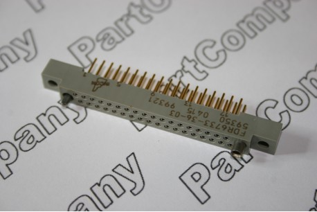 FDR6733-36-03 Incon 36 way Straight Socket .100 Series