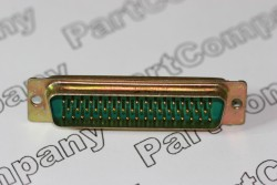 M24308/24-5F D Sub MIL Spec Plug Straight PCB Mounting 50 Way