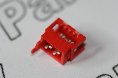 7-215083-4 TE Connectivity 4 Way Micro-MaTch IDC Ribbon On-Wire Connector