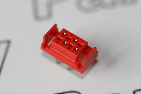 7-338068-4 TE Connectivity 4 Way Micro-MaTch Female-on-Board Connector with Latch