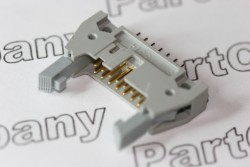 3314-6602 3M 4 Wall Header 14 Pin Straight with Latch/Eject