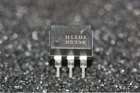 H11D1 Fairchild 6-Pin DIP High Voltage Phototransistor Optocouplers