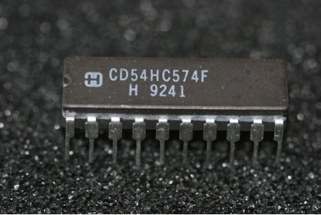 CD54HC574F Harris High Speed CMOS Octal D-Type Flip-Flop