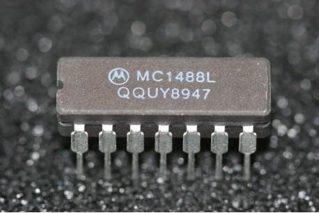 MC1488L Motorola Quad MDTL Line Driver RS-232C