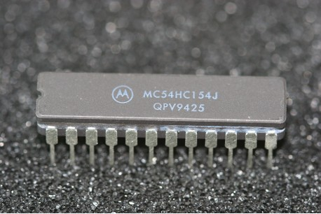 MC54HC154J Motorola 1-of-16 Decoder Demultiplexer