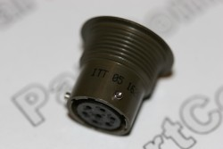 Audio Miniature Bayonet Lock 7 Pin Socket