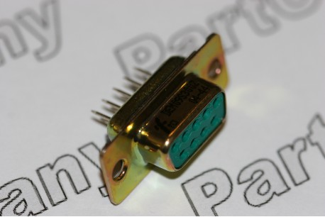 D Subminiature Socket Straight PCB Mounting